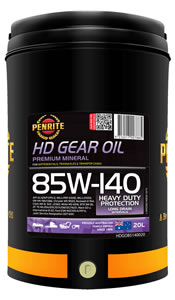 PENRITE 85W-140 HD (NON LSD) GEAR OIL
